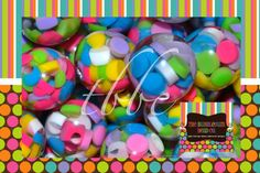MULTICOLOR Candy Resin Beads, Qty 10, Polka Dot Bead, 20mm Bead, Chunky Bead, Chunky Necklace, Round Bead, BUBBLEGUM BEADS, Gumball Beads