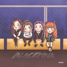 [Fanart] BLACKPINK × Vougue ❤️ #Rose #Jennie #Lisa #Jisoo #BLACKPINK #블랙핑크 #blackpinkfanart #Fanart #mayko #procreate