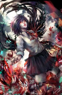 One Winged Rabbit by Byakurin