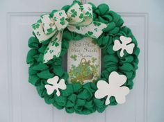 St. Patrick's Day Wreath Irish wreath by ChloesCraftCloset on Etsy