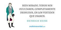 Heinrich Heine www.analisisnoverbal.com