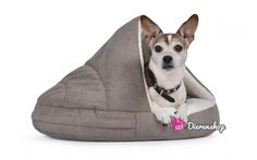 Hondenmand Snuggle Cave Taupe Deluxe 95 cm
