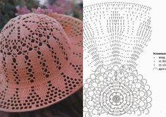 Childrens Crochet Hats, Crochet Adult Hat, Crochet Summer Hats, Crochet Kids Hats, Crochet Baby, Knitted Hats, Crochet Designs, Crochet Patterns, Sombrero A Crochet