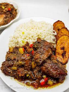 Jamaican Brown Stew Chicken, Jamaican Dishes, Jamaican Recipes, Baked Jerk Chicken, Marinade Chicken, Chicken Curry, Jamacian Food, Bon Ap, Caribbean Recipes