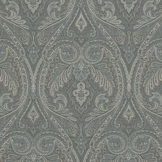 LCF65558F Dorchester Paisley Teal by Ralph Lauren