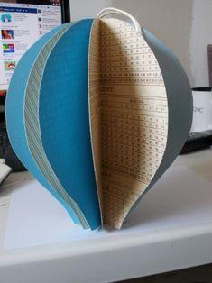 Technique papier m ch montgolfi re papier m ch et m che - Montgolfiere en papier ...