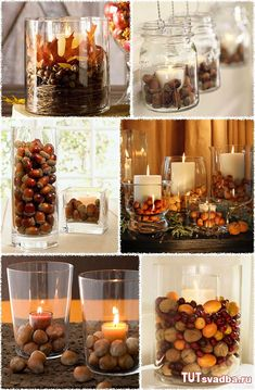 Fall The Effective Pictures We Offer You About Thanksgiving punch A quality picture can tell you man Thanksgiving Diy, Thanksgiving Centerpieces, Christmas Table Decorations, Decoration Table, Autumn Decorations, Fall Wedding Centerpieces, Fall Home Decor, Autumn Home, Autumn Fall