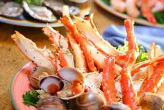 Garden Buffet - South Point Hotel Casino and Spa Official Website Las Vegas Eats, Las Vegas Restaurants, French Restaurants, Las Vegas Trip, Vegas 2017, Seafood Buffet, Seafood Dishes, Breakfast Buffet, Best Breakfast