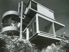 André Bloc & Claude Parent | Villa d'Antibes  ---> i bet the view in the bottom box is breathtaking