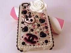Custom lolita Deco Phone Case par Edenka sur Etsy, $41,00