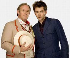 Peter Davidson David Tennant Doctor Who Children in Need