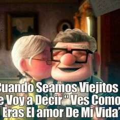 Carl Y Ellie, Love Qutoes, Romantic Paintings, I Love You, My Love, Love You Forever, Spanish Quotes, No One Loves Me, Couples