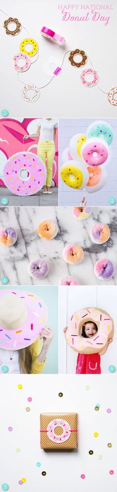 National Donut Day DIY Ideas
