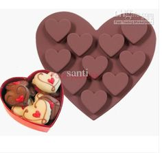 cuore torta di caramelle di cioccolato decorazione del vassoio del cubo di ghiaccio produttori di stampoall'ingrosso