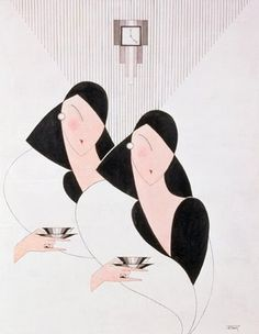Art Deco Ladies: http://4.bp.blogspot.com/_Bw6wUZgcQOI/ScJpVEjDz8I/AAAAAAAABvg/M7OKGaz0hw8/s400/two+ladies+art+deco.JPG