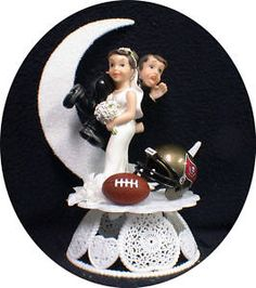 Tampa Bay Buccaneers Football Team Wedding Cake Topper  EBay