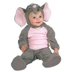 Baby Works 4 Peanuts Elephant Halloween Costume - Baby Animal Halloween Costumes