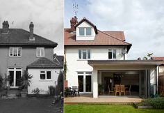 Grazebrook Architects • Contemporary home extension and loft conversion to Henleaze house