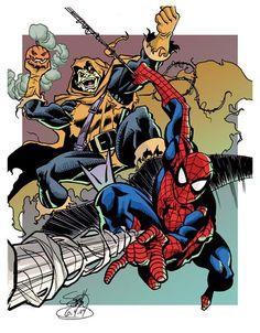 Image result for spider-man vs the shocker