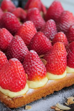 Erdbeerkuchen vegan & fructosearm