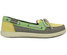 Everybody loves the Walu loafer — it's comfortable, casual and perfect with almost anything. Here's a boat-inspired version that has all of the comfort and a little more nautical style. It's more fun and colorful than traditional boat shoes, and light enough so it will never anchor you down. Free shipping on qualifying orders.