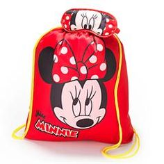 Minnie Mouse Character Sleeping Bag with Eye Mask And Drawstring Bag
