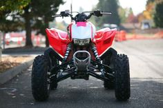 New 2014 Honda TRX 450R (Elec Start) ATVs For Sale in Oregon. 2014 Honda TRX 450R (Elec Start), SAVE 800 NOW ON THESE 3 STOCK NUMBERS 2014 Honda® TRX®450R (Elec Start) Performance That s Been Proven Time And Again. Availability: September, 2013. If you re looking for a sport ATV with a serious racing pedigree, then you ve found it: the TRX®450R. Winner of multiple Baja 1000s, the TRX®450R offers up an ideal mix of performance, handling and power, thanks to a MX-inspired Unicam® liquid-cooled…