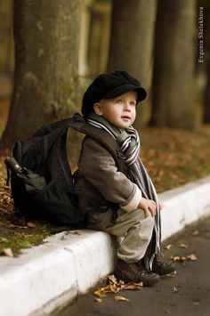 Dreaming of adventure… cute child
