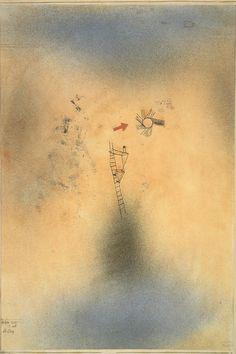パウル・クレー『上昇』1925年 宇都宮美術館蔵