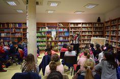 Encuentro con Fina Casalderrey en la Biblioteca Pública de La Haba