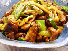 Breakfast Recipes, Dinner Recipes, Asian Recipes, Ethnic Recipes, Kung Pao Chicken, Wok, Diabetic Recipes, Deli, Food Inspiration