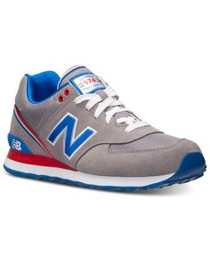 New Balance Men's 574 Stadium Jacket Casual Sneakers from Finish Line