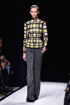 Balmain Paris Fashion Week spring/summer 2015 runway