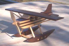 Wood Float Plane