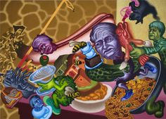 Peter Saul Brings His Surrealistic Bad Painting to Moscow...