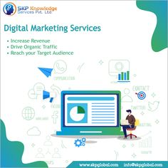 SKP Knowledge Services helps you to increase website traffic as well as to improve brand visibility. Let's go with the best Digital Marketing Company! Best Digital Marketing Company, Digital Marketing Services, Online Marketing Strategies, Content Marketing, Seo Consultant, Best Seo Services, Reputation Management, Search Engine Optimization