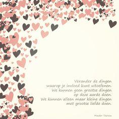 Ontwerp: Nelleke Wouters - www.woutersdesign.nl - inspiratie - quote - gepubliceerd in Hip & Hot magazine