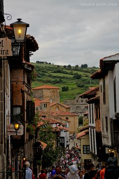 A historic town of three lies : Santillana del Mar, Cantabria, Spain.