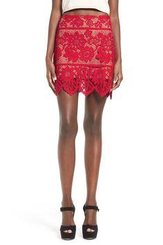 Gianna Lace Miniskirt