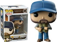 Image in funko pop collection by loup blanc on We Heart It Supernatural Pop Figures, Bobby Singer Supernatural, Funko Pop Supernatural, Pop Vinyl Collection, Funko Pop Dolls, Pop Toys, Pop Characters, Nerd, Pop Vinyl Figures