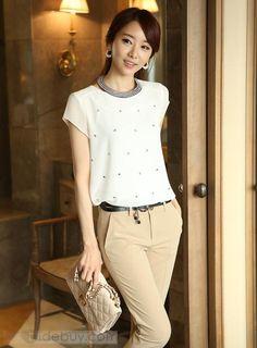 blusas elegantes en chifon manga larga - Buscar con Google