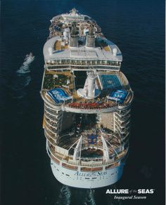 Our ship is the biggest in the world.... Wow............