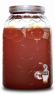 Rammento-5-Litre-Vintage-Beverage-Glass-Drink-Dispenser-With-Screw-Top-Lid