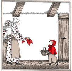 Edward Gorey Illustrates Little Red Riding Hood and Other Classic Children's Stories | Brain Pickings