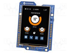 4D SYSTEMS 4DUINO-24 - Display: TFT