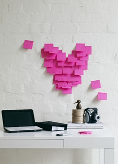 Post it notes!! What would I do without my post it notes .... use them all the time in my home based business. #perskinality