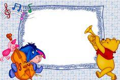 Marcos de Winnie Pooh bebé para fotos infantiles gratis - Imagui