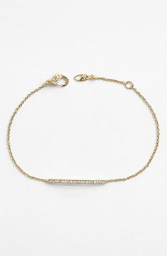 Boxed Bar Station Bracelet / @nordstrom #nordstrom