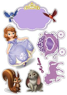 Sofia Cake, Sofia The First Birthday Party, Princess Cake Toppers, Mobiles, Scooby Doo, First Birthdays, Cakes, Disney Princess, Fictional Characters