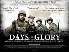 Days of Glory- The true story of Arab men fighting for France against Germany. Very well done.